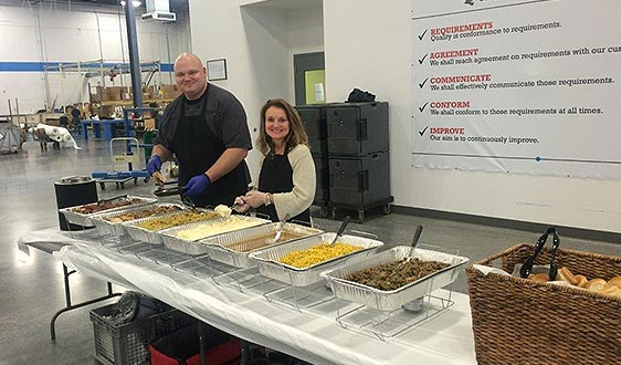 business lunch catering tulsa