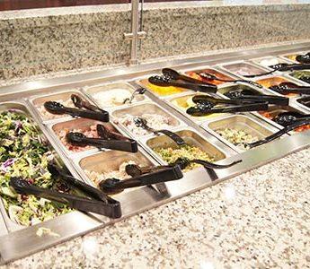 atrium grill salad bar