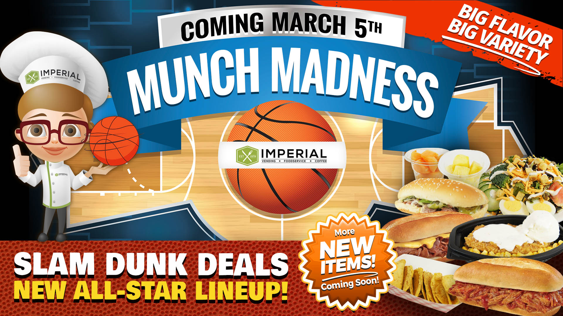 Munch Madness!