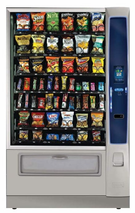 Newest Vending Machine Technology