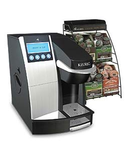 Keurig B3000 with Rack