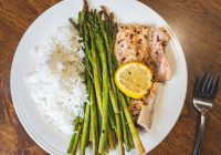 asparagus and chicken